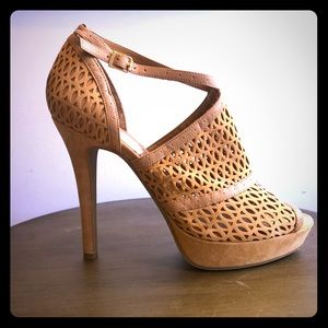 Bcbgeneration tan heels. Worn a handful of times.